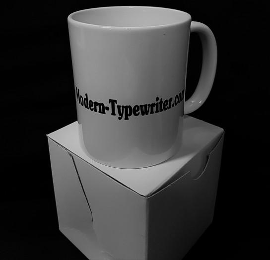 Modern Typewriter cup